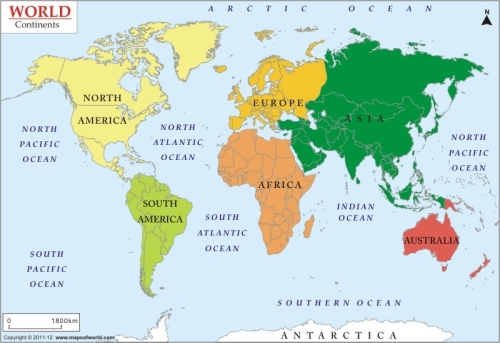 world-continents-map