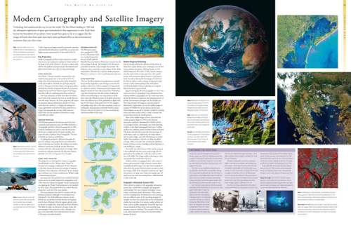 Earth-Cartography-and-Satellite-imagery地图册